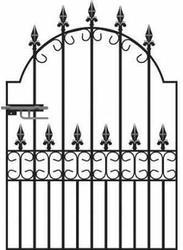 Royal Premier Wrought Iron Style Garden Gate image