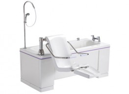 Offering exceptional value without compromising performance, the Alera is a cost-effective and ultra-efficient bathing system perfectly suited to care home or assisted living environments.