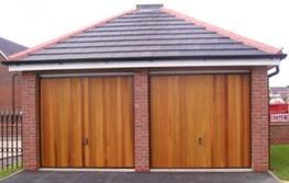 Cedar Garage Doors image
