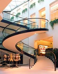 Helical staircases image
