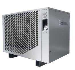 The range consists of five floor standing models, with the following features: Heating capacities from 6kW to 65kW Environmentally friendly R134A refrigerant Hot water production up to 70°C Option of operation down to -15°C (3034 & 7034 only) with reverse cy...