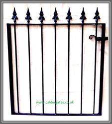Brook Wrought Iron Garden Gate image