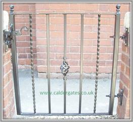 Holme Metal Garden Gate image
