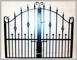 Wessenden Wrought Iron Driveway Gates image