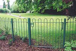 Bow top fencing image