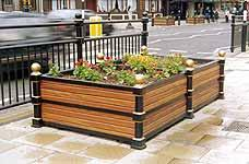 850 / 852 Timber/Cast iron planters image