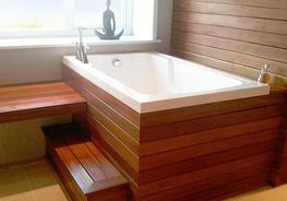 Nirvana Deep Soaking Bath Tub image