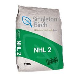 NHL 2 is a fast setting powdered lime for use with softer bricks and stone, solid wall construction and conservation masonry....