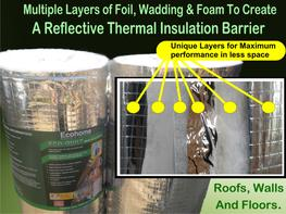 EcoQuilt Expert is our best selling Multifoil Insulation solution for both D.I.Y and the professional building trade looking for maximum performance at less cost.