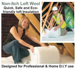 Non-Itch Loft Wool Insulation image