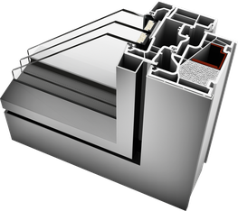 KF 410 UPVC/Aluminium Windows image