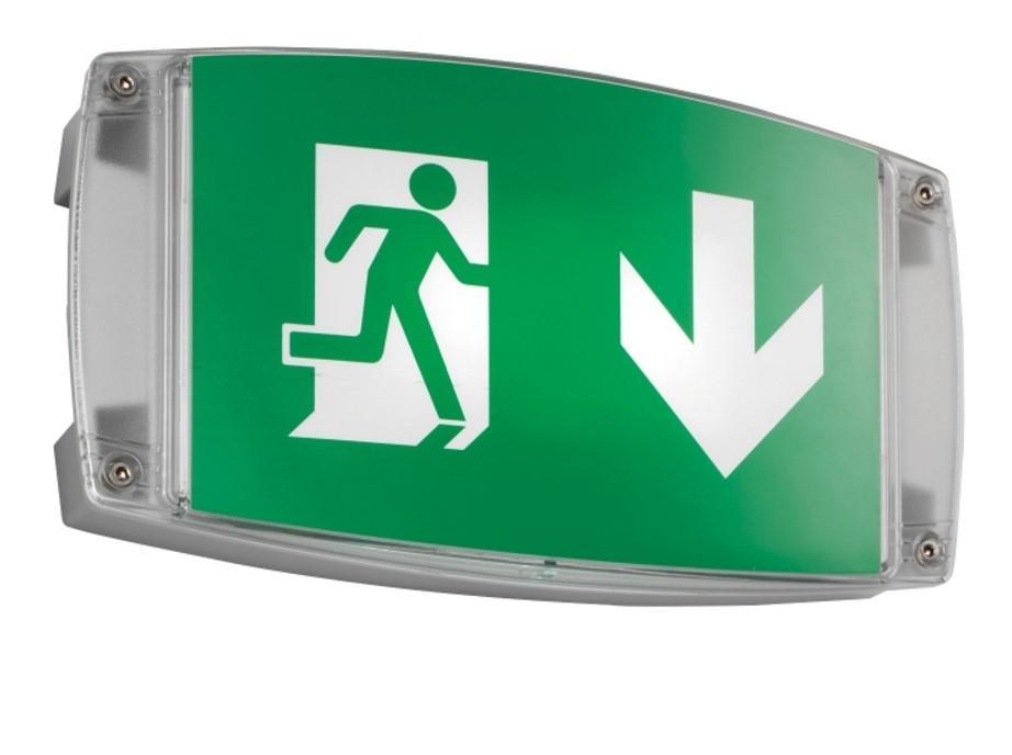 product information for i p65 bulkhead led emergency light. Black Bedroom Furniture Sets. Home Design Ideas