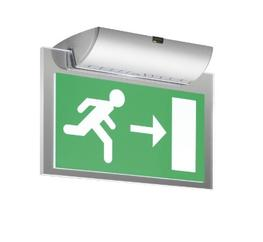 Evoled combines the long life and low maintenance benefits of LED technology with energy efficient operation and sleek, modern styling to produce an exit sign suitable for almost any application. Available in a choice of either white or silver colour finishes ...