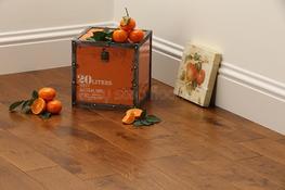 Smooth Golden Oak Solid Wood Flooring image