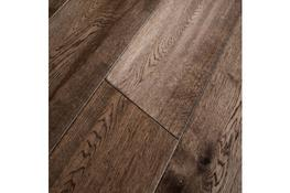 Engineered Handscraped Hazel Coffee Lacquered Oak image