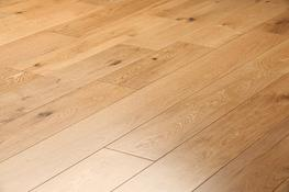 Engineered Lacquered Oak Flooring image