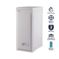 Norfrost by Ebac 54 Litre White Chest Freezer image