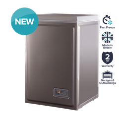 Norfrost by Ebac 84 Litre Silver Chest Freezer image