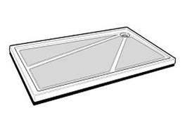EB1039R - Shower Trays image