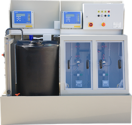 E J Group Limited manufacture bespoke polypropylene (PP) dosing cabinets for the water treatment industry. Polypropylene is the hardest and stiffest polyolefine, has high chemical resistance and is widely used in the water treatment industry. Dosing cabinets a...