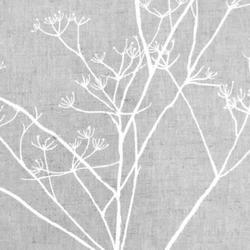 Chervil White Linen mix fabric image