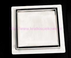 Stainless steel tile insert  square floor drains 150x150 image