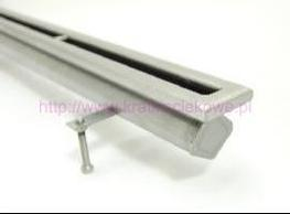 Stainless steel floor drains with 1 slit top image