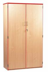 The coloured edge school storage cabinets can be used to hold stationery and stock within school classrooms as well as school offices. Available in 3 sizes.  Add a splash of colour with the coloured edge storage cupboards, supplied with protective PVC edging i...