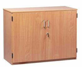 The school storage cabinets can be used to hold stationery and stock in classrooms as well as school offices and staffrooms. These cabinets come with lockable doors and are available in three sizes - small, medium and large.  The small cupboard has 2 adjustabl...