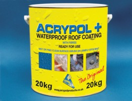 Acrypol + White 20kg - Waterproof Roof Coating image
