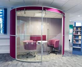 Acoustic Pods with Ceilings image