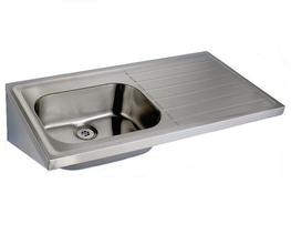Model 809 STA is a hospital pattern sink top type A manufactured in compliance with HBN00-10 (formerly HTM64) for use in hospitals and medical environments.The single sink and single ribbed drainer unit is manufactured from 304 grade stainless steel. Tap holes...