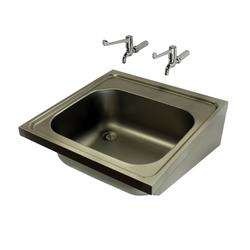 Model 808-SK1 is a hospital pattern (SK1) sink with single sink bowl manufactured in compliance with HBN00-10 (formerly HTM64) for use in hospitals and medical environments.The sink unit is manufactured from 304 grade stainless steel and is supplied without an...