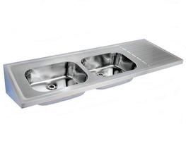 Model 809 STC is a hospital pattern sink top type C manufactured in compliance with HBN00-10 (formerly HTM64) for use in hospitals and medical environments.The double sink and single ribbed drainer unit is manufactured from 304 grade stainless steel. Tap holes...