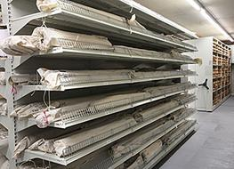 On-Shelf Cantilever Rolled Material Storage image