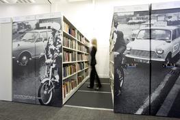 Library Shelving Signage image