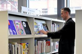 Library Shelving Signage - Accessible Storage Solutions By Rackline