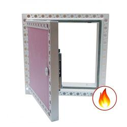 Fire Rated Plasterboard Door and Concealed Beaded Frame image