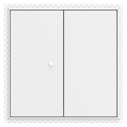 Non Fire Rated Metal Access Panels Beaded Frame Budget Lock DOUBLE DOOR are suitable for non fire rated wall and ceiling applications. Manufactured by Profab to ISO 9001:2008....
