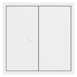 Non Fire Rated Metal Access Panels Frame Frame Budget Lock DOUBLE DOOR are suitable for non fire rated wall and ceiling applications. Manufactured by Profab to ISO 9001:2008....