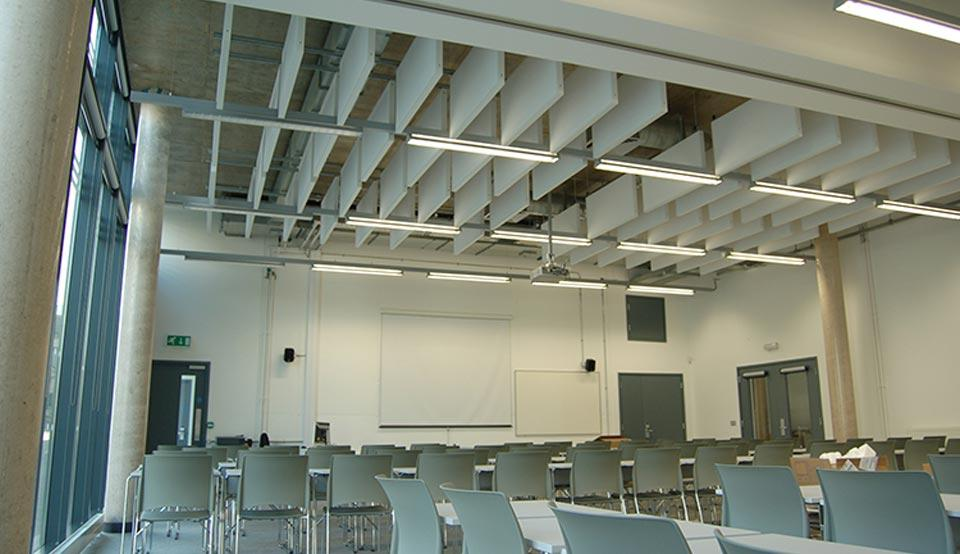 Acoustic Baffles And Rafts Tbs Baffle By Acousticabs
