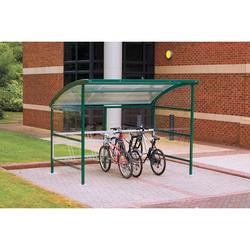 Premier Cycle Shelter - Perspex image
