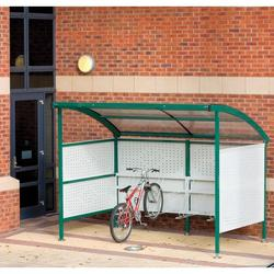Premier Cycle Shelter  - Perforated Steel image
