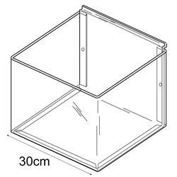 25cmx25cm bin-slatwall (trays & tubs for slatwall) image