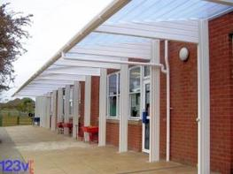 123v Covered Walkways for Schools image