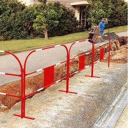 These Portable Site Safety Barriers are manufactured from steel tube. They are economic, stable, light and easy to deploy, making them the ideal solution for temporary work sites.  1.5m long (each barrier) Easy to click together for stability and safety, using...