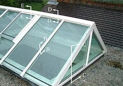 Rooflights - Gable Spanlight image