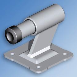 Damper Limit Stop With Plate 116AP Zinc image