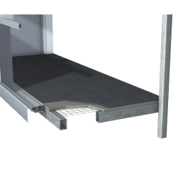 Conditions always vary. There is usually an existing floor module that we can retain or extend. Sometimes we make a completely new one. Our floor modules are cast in a frame of hot-galvanised steel and weigh around half as much as an ordinary concrete floor. N...