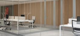 Aria - Glazed Screen Walls - Babini Office